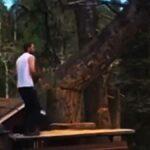 Kácí strom - a létají třísky!