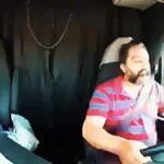 Mikrospánek řidiče kamionu způsobí nehodu