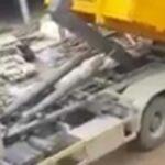 Nakládka kontejneru bez ohledu na nosnost končí fiaskem!