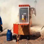 Přístroj na popcorn zachvátí plameny