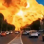 Výbuch čerpací stanice v Rusku