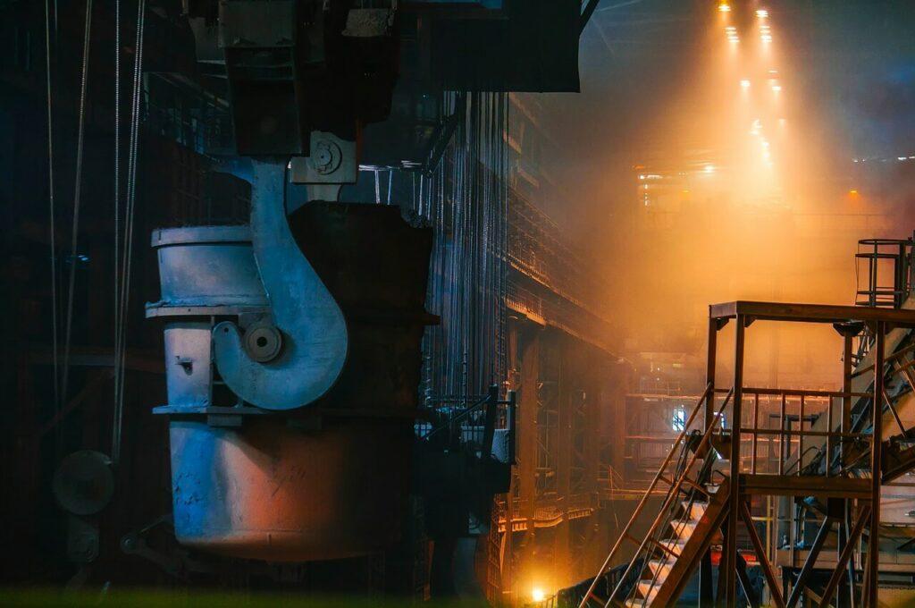 Zpracování surového železa a výroba oceli