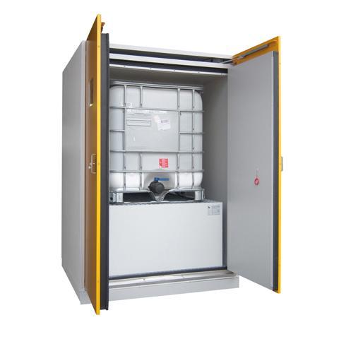 Bezpečnost práce ve skladech - skladovací skříň na chemické látky